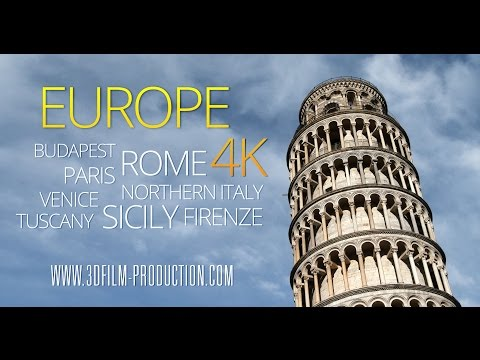 4K Europe Film Trailer UHD 50p