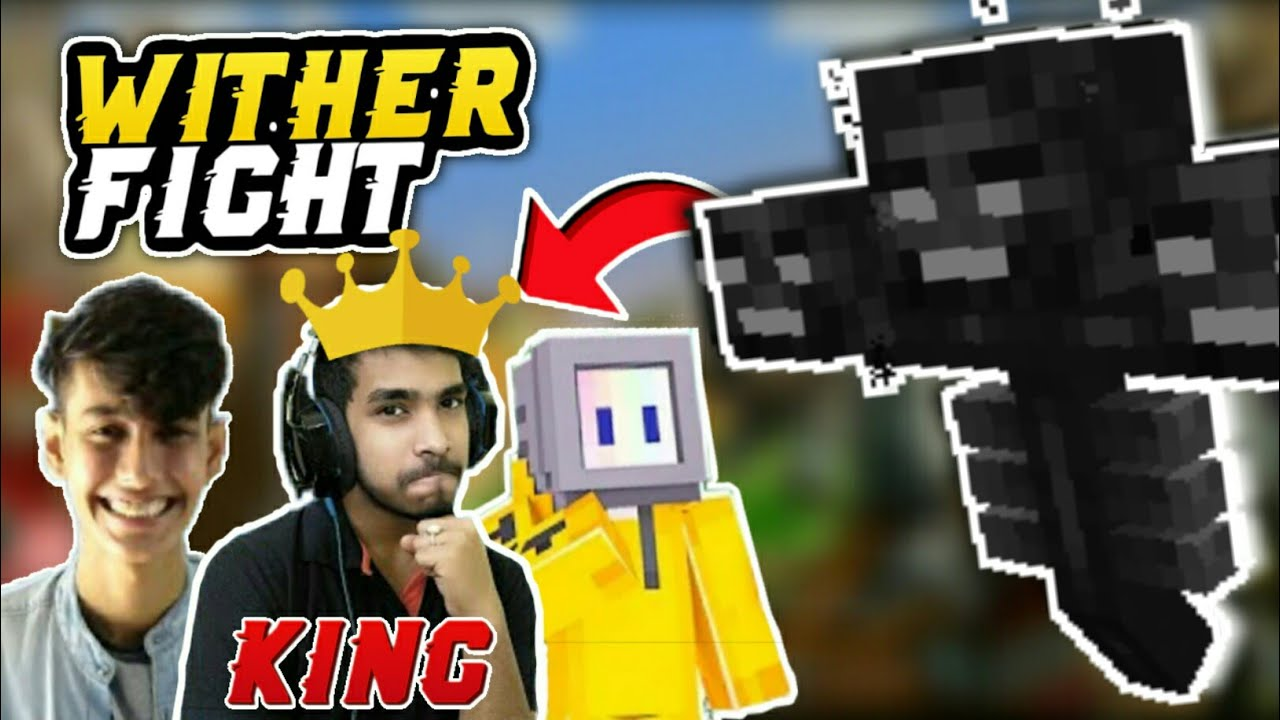 MOST POWERFUL WITHER FIGHT | Part 2 | Win/Lose | Battle Factor