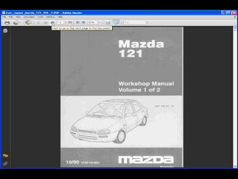 Mazda 121 Manual  YouTube