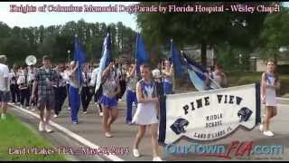 Knights of Columbus Memorial Day Parade by Florida Hospital - Wesley Chapel in Land O