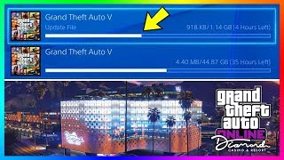 GTA 5 Online The Diamond Casino & Resort DLC Update - RELEASE TIME! NEW Content Early & Much MORE! thumbnail