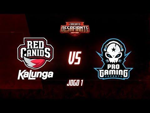Circuito Desafiante 2019: 2ª Etapa - Fase de Pontos  RED Kalunga x ProGaming Esports Jogo 1