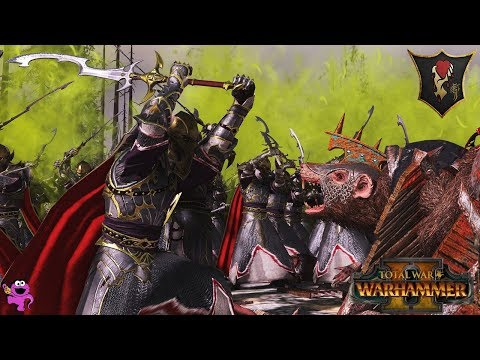 From Har Ganeth with Hatred - Dark Elves vs. Skaven 2v2 - Total War Warhammer 2 Multiplayer Battle