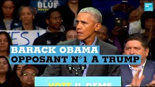 Barack Obama, opposant n°1 à Trump