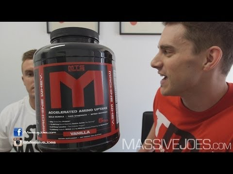 MTS Machine Whey Protein Powder - MassiveJoes.com RAW REVIEW Marc Lobliner WPI WPC Australia