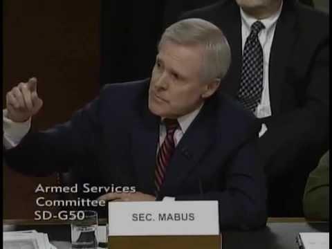 Sen. Ted Cruz Q&A with Secretary of the Navy Raymond E. Mabus, Jr.