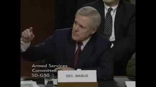 Sen. Ted Cruz Q&A with Secretary of the Navy Raymond E. Mabus, Jr.