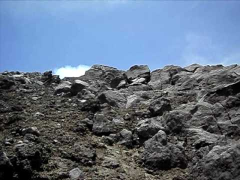 mt. mayon volcano climbing