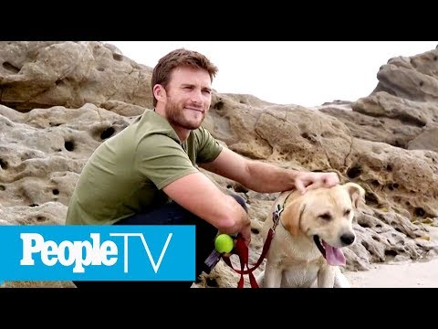 Scott Eastwood Shares What He Loves Most About Raising His Adorable Pup Fred  PeopleTV