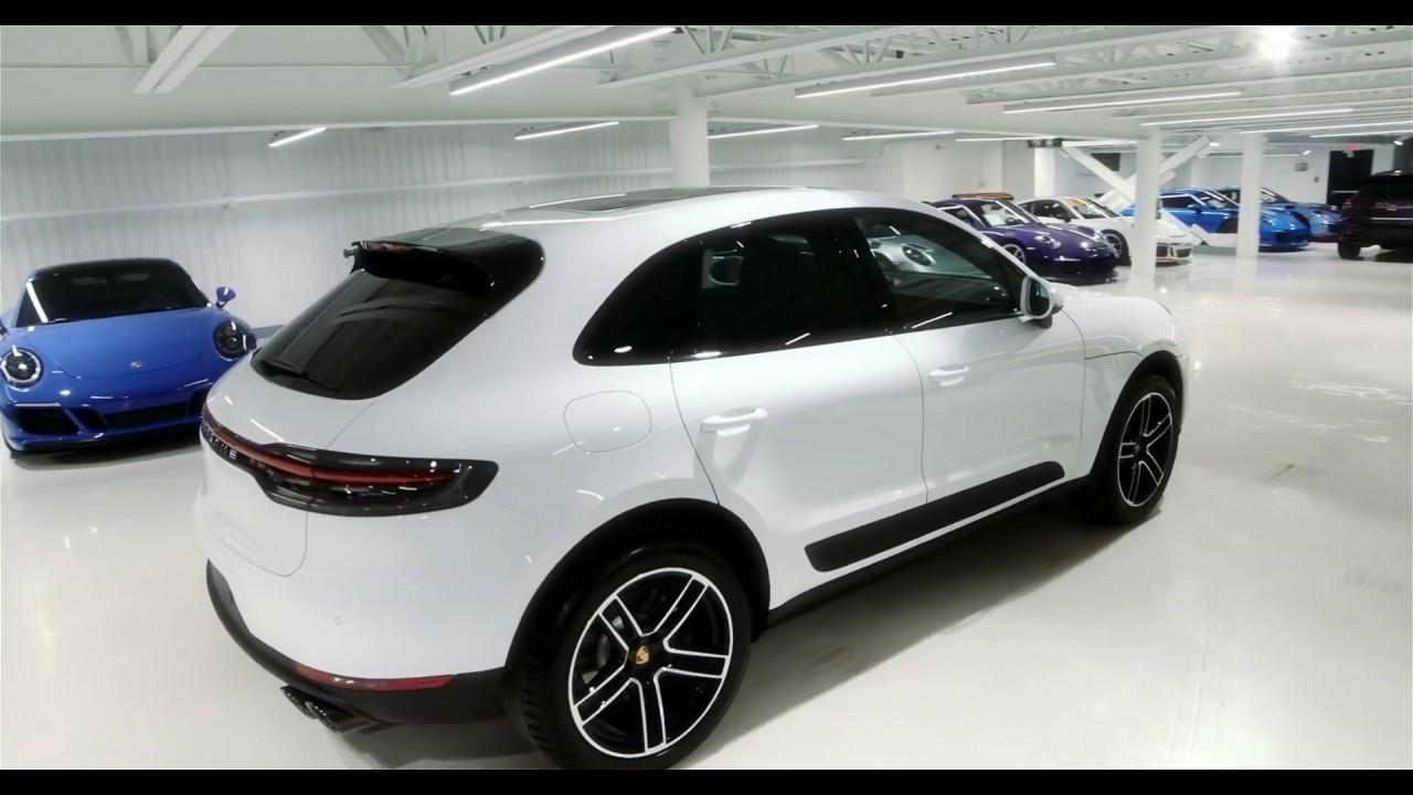 2019 Porsche Macan S Carrara White With A Black And Garnet Red Interior Youtube