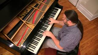 SUPER MARIO BROTHERS MAIN THEME | Cory Hall, piano