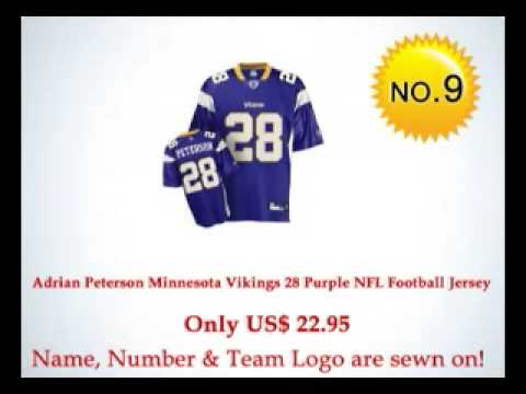 $23 Stitched On Jersey - Best Selling NFL Jerseys: Top 30