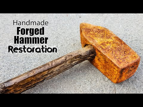 Vintage HandForged BlackSmith HAMMER Restoration