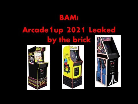 BAM! Arcade1up 2021 Leaked By the Brick from ConStorm Entertainment