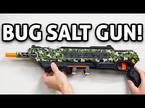BUG GUN!! Ultimate Gadget Gift: Bug-A-Salt 2.0