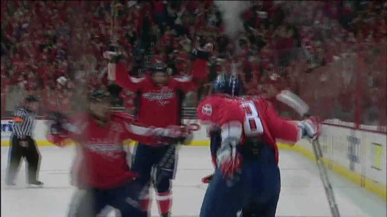 Alex Ovechkin first playoff hat trick! HD - YouTube 4057aa37ec1