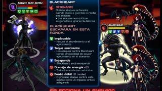 Matando Blackheart ( 2 Estrategia) y Críticos LETALES con Heraldo de Muerte Marvel Avengers Alliance