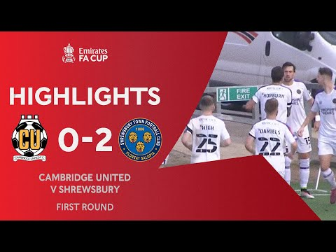 Cambridge Utd Shrewsbury Goals And Highlights