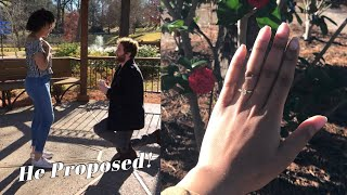 I'M ENGAGED! OUR PROPOSAL STORY