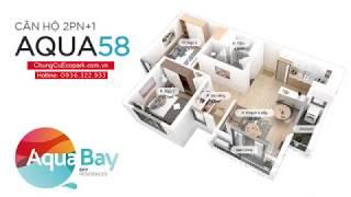 Ecopark Review | Review căn hộ Aqua Bay 58m2 3 mặt thoáng 2 phòng ngủ giá chỉ hơn 1 tỷ 2