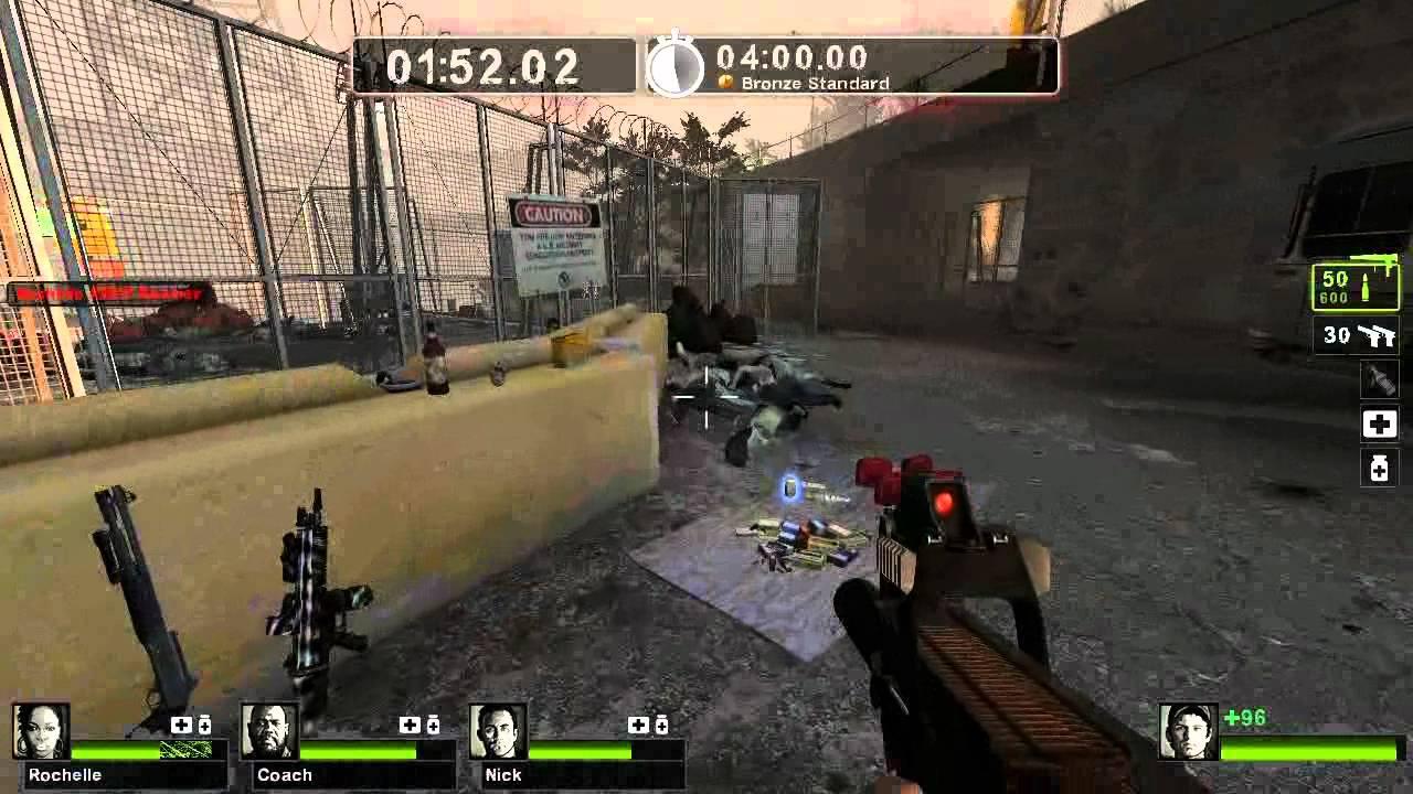 Left 4 Dead 2: Desert Recon FN P90 Mod