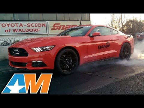 Bama's 2015 Ecoboost Mustang 12-Sec 1/4 Mile! - AmericanMuscle.com