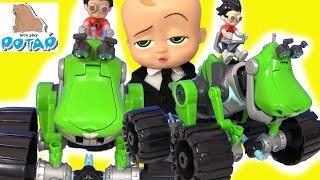 Зомби Апокалипсис Rusty Rivets Видео для детей #Босс Молокосос! Hey Arnold #Boss Baby