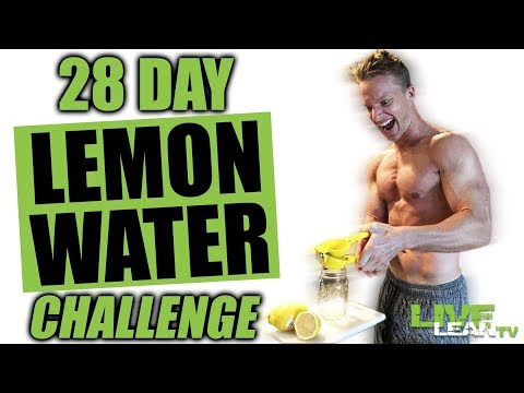 28 DAY LEMON WATER CHALLENGE | Lemon Water Benefits | How To Make Lemon Water