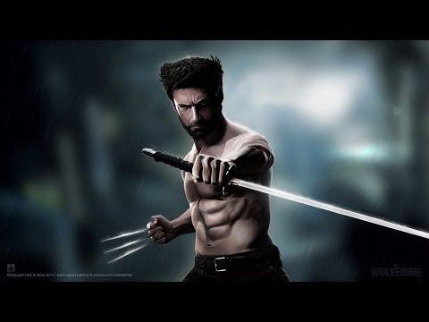 The Wolverine – Speed Painting  ( #Photoshop CS6 )