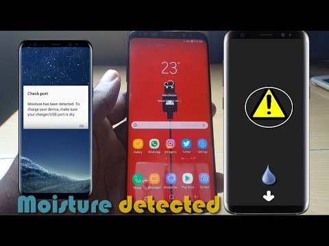 Galaxy S8,S9 Moisture Detected In Charging Port Fix: 6 solutions