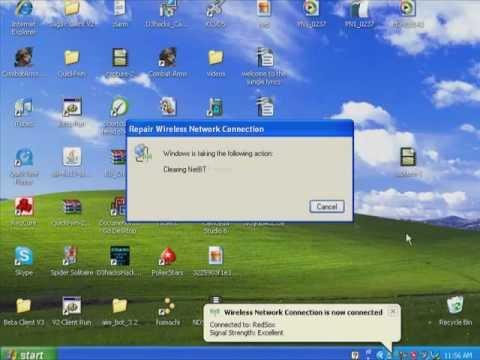 Quick Fix: Limited or No Connectivity internet connection (windows XP)