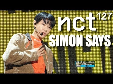 [HOT] NCT 127 - Simon Says , 엔시티 127 -  Simon Says Show Music Core 20181222