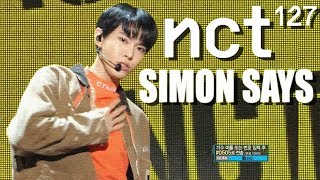[HOT] NCT 127 - Simon Says , 엔시티 127 -  Simon Says Show Music core 20181222