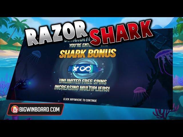 RAZOR SHARK (PUSH GAMING) - NEW SLOT