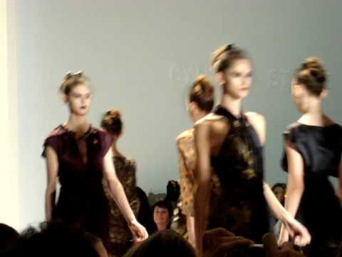 Cynthia Steffe - Fall/Winter 2009 - New York Fashion Week