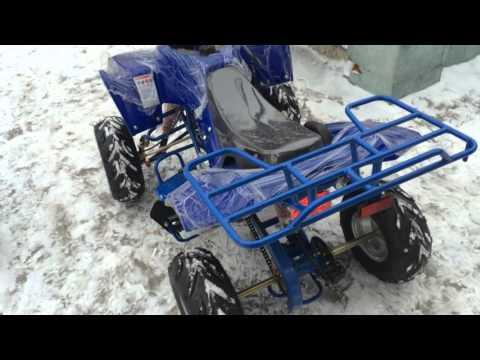 Обзор подросткового квадроцикла MOTAX ATV A55