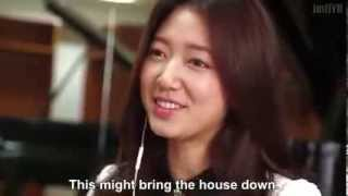 Repeat youtube video Park Shin Hye reaction to CNBLUEs New Song Cant Stop Jung Yong Hwa composed !