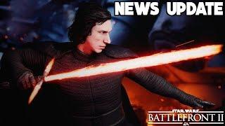 GREAT NEWS! Ewok Reinforcements, Rey & Kylo Ren Skin Update and More! Star Wars Battlefront 2