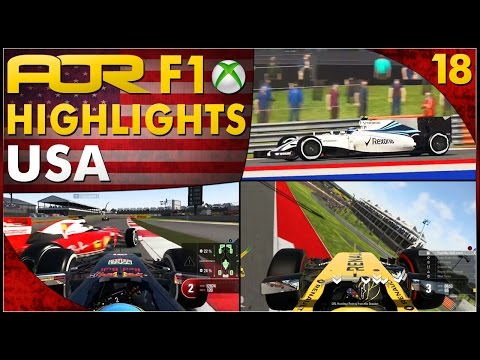 F1 2016 | AOR XB1 F1: S12 Round 18 - United States GP (Official Highlights)