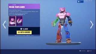 Fortnite teddy bear robot skin