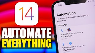 iOS 14 Automations - iPhone Automations You MUST Have in 2021!