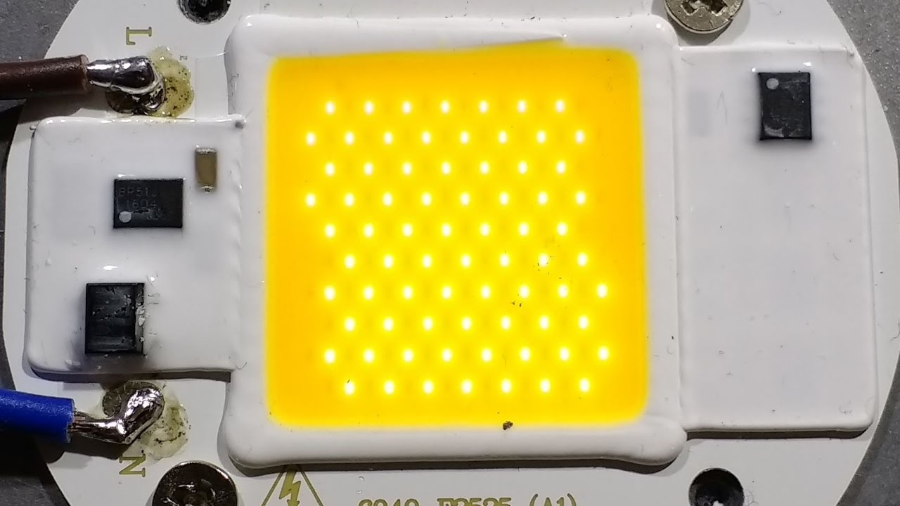 Driverless 50w Led Teardown And Schematic Youtube