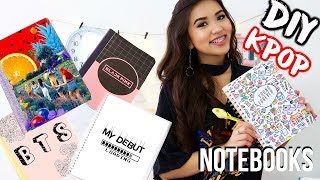 DIY K-POP Notebooks | OnlyKelly