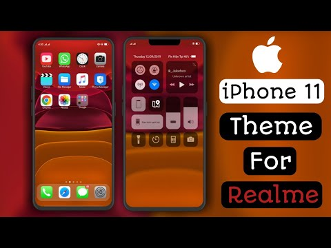 🔥iPhone 11 Theme For All Realme And Oppo Device.
