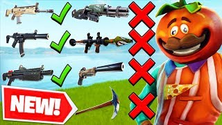 The *NEW* GUN GAME CUSTOM MODE in Fortnite PLAYGROUND V2 MODE! - Fortnite Battle Royale