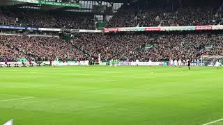 2019-02-10 SV Werder Bremen - FC Augsburg 4-0 - Tore von J. Eggestein und M. Rashica