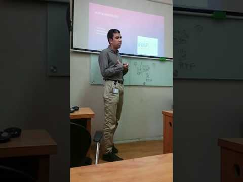 VOIP training class part 1 in Persian