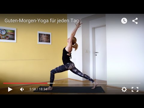 Guten Morgen Yoga Für Jeden Tag Doktor Yoga