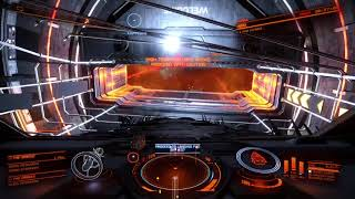 Elite Dangerous Oracle station attacked by Thargoids