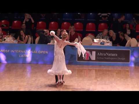 WDSF International Open Standard Final Walts Dmitry Pleshkov - Anastasia Kulbeda